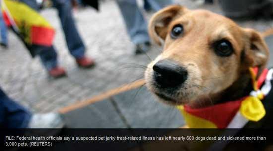 China Jerky Treats Kill 600 dogs